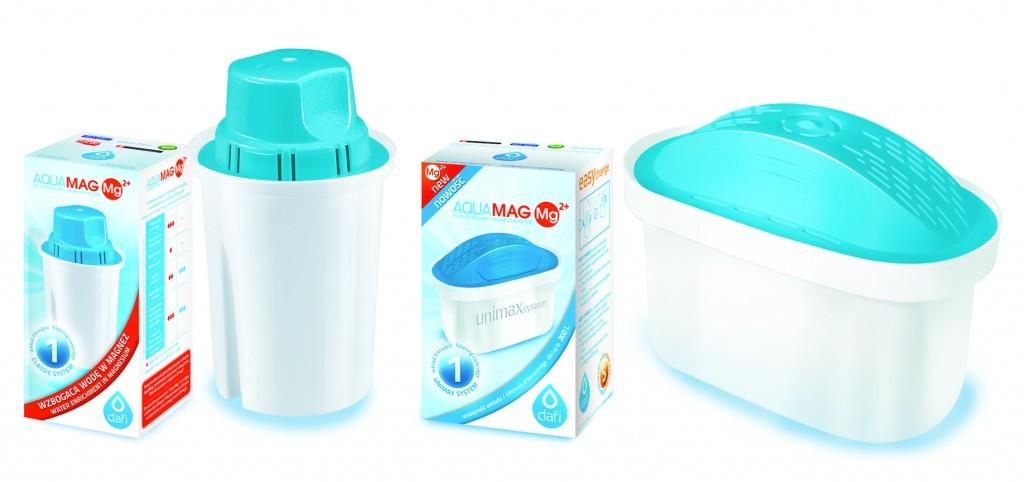 DAFI  NOWOŚĆ Filtry AquaMAG - wzbogacające wodę w magnez
