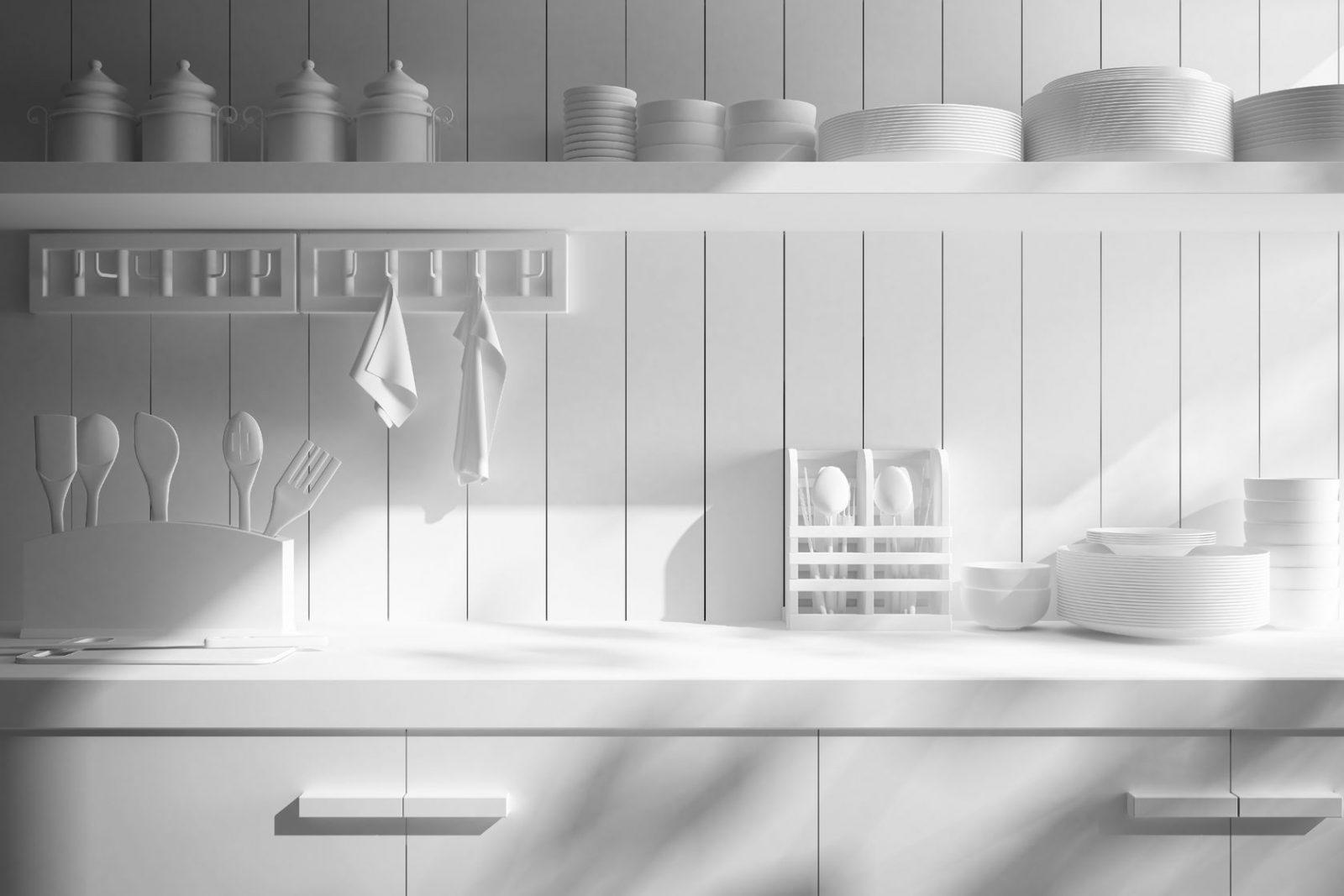 Biała kuchnia zpomysłem. Jak ją urządzić?