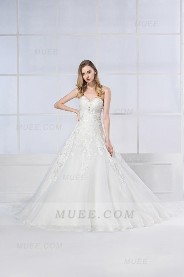 Idealna suknia ślubna – przegląd Muee