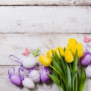 Przygotowanie wnętrza na Wielkanoc