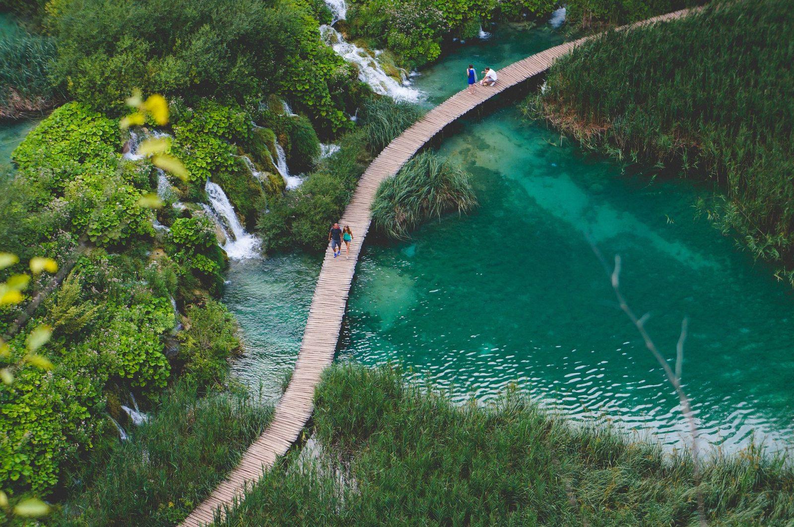 Szlakiem Parków Narodowych wChorwacji.